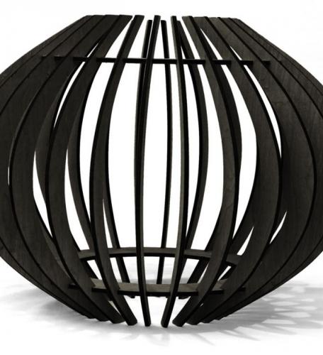Hokianga Lampshade - Black